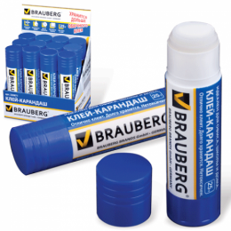 Клей-карандаш Brauberg