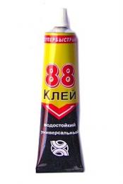 """Клей универсальный """"88"""" Супербыстрый водостойкий"""