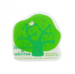"""Книжка-игрушка для ванны  """"Зеленое и желтое"""" Ks Kids"""