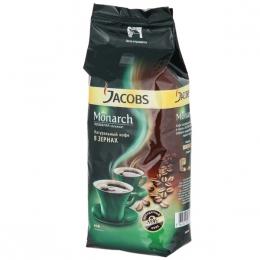 Кофе натуральный жареный в зернах Jacobs Monarch среднеобжаренный высшего сорта