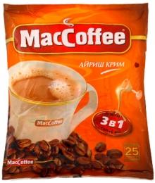 Кофе MacCoffee 3 в 1 «Айриш крим»