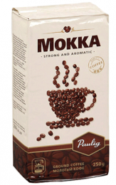 """Кофе молотый Paulig """"Mokka"""", натуральный для заваривания в чашке"""