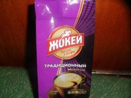 """Кофе натуральный жаренный молотый """"Жокей"""" традиционный среднеобжаренный"""