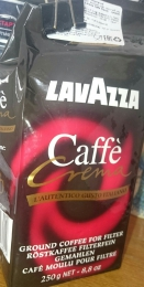 Кофе натуральный жареный Lavazza Caffe Crema