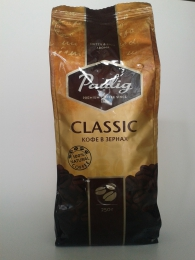 Кофе Paulig Classic в зёрнах