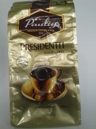 Кофе Paulig Presidentti Gold Label в зёрнах