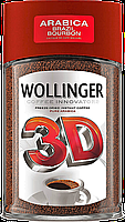 Кофе растворимый натуральный сублимированный Wollinger 3D