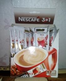 Кофе растворимый Nescafe 3 в 1 Coconut mix