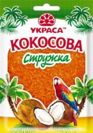 """Кокосовая стружка оранжевая """"Украса"""""""