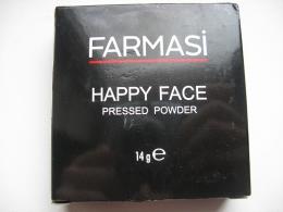 Компактная пудра Farmasi Happy Face Pressed Powder