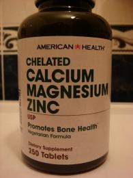 Комплекс American Health Calcium Magnesium Zinc