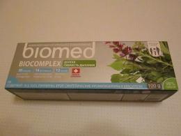 Комплекская натуральная зубная паста Biomed biocomplex