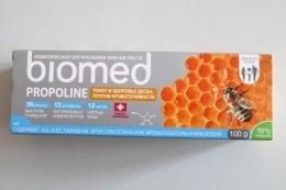 Комплексная натуральная зубная паста Biomed propoline