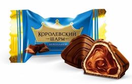"""Конфеты АВК """"Королевский шарм"""" с шоколадной начинкой"""