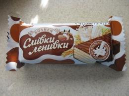"""Конфеты глазированные шоколадной глазурью """"Сливки-Ленивки"""" Roshen"""