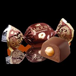 Конфеты Konti Amour с цельным фундуком