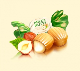 Конфеты «Milky-Nutty» Roshen