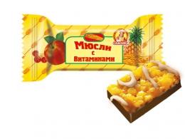 """Конфеты """"Мюсли с витаминами"""" Славянка"""