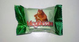 """Конфеты шоколадные Мишкино """"Медвеган"""" арахис в мягкой карамели"""