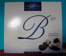 """Конфеты шоколадные Vanden Bulcke """"Морские ракушки"""""""
