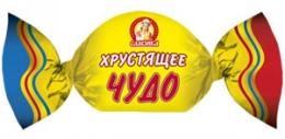 """Конфеты Славянка """"Хрустящее чудо"""""""