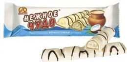 """Шоколадные батончики Славянка """"Нежное чудо"""""""