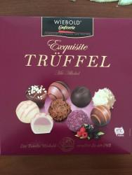 Конфеты Wiebold Exquisite Trüffel Mit Alkohol