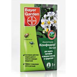 """Инсектицид """"Конфидор Экстра"""" Bayer garden для защиты картофеля и овощных культур от вредителей"""