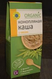 """Конопляная каша с овсом Organic """"Компас здоровья"""""""