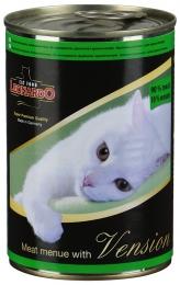 """Консервированный корм для кошек Leonardo Vension """"Мясо с дичью"""""""