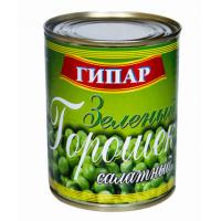 """Консервы овощные стерилизованные """"Горошек зеленый салатный"""" Гипар"""
