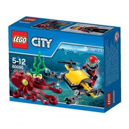 Конструктор Lego City 60090 Глубоководный скутер
