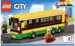 Конструктор Lego City 60154 Автобусная остановка