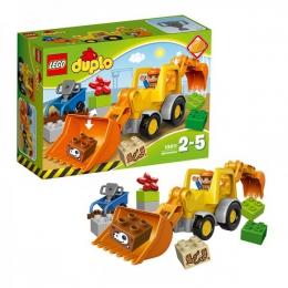 """Конструктор Lego Duplo """"Экскаватор-погрузчик"""" 10811"""
