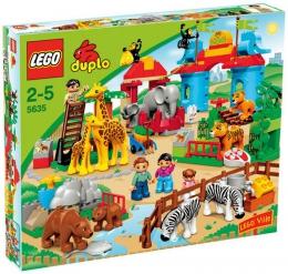 """Конструктор Lego Duplo """"Зоопарк"""" 5635"""