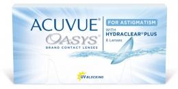 Контактные линзы Acuvue Oasys with Hydraclear Plus for astigmatism Johnson&Johnson