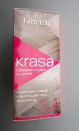 """Концентрированный оттеночный шампунь-кондиционер 3 в 1 Faberlic Krasa """"Розовый жемчуг"""""""