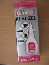 """Концентрированный секундный клей Inter Globus """"Super Globus"""" Klej-Zel Jakosc Globusa"""