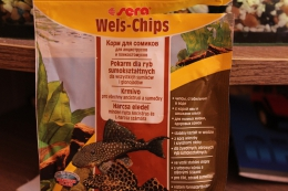 Корм для сомиков, для анциструсов и плекостомусов Sera Wels-Chips
