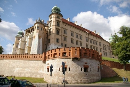 Королевский замок на Вавеле (Польша, Краков)