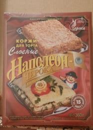 """Коржи для торта слоеные Черока """"Наполеон-Черока"""""""