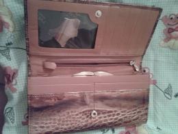 Кошелек кожаный Rensiti Italy leather арт. 2456М789