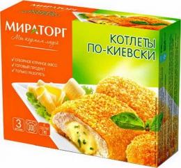 Котлеты по-киевски Мираторг