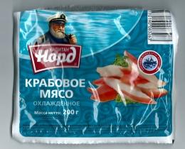 """Крабовое мясо охлажденное """"Капитан Норд"""""""