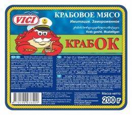 "Крабовое мясо VICI ""Крабок"""