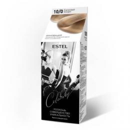 Краска для волос Estel Celebrity с эффектом ламинирования тон 10/0 Платиновый блондин