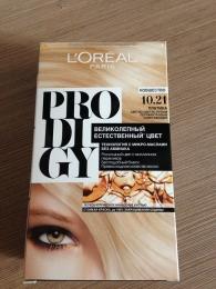 Краска для волос L'Oreal Paris Prodigy 10.21 Платина светло-светло русый перламутровый осветляющий