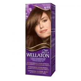 Интенсивная крем-краска для волос Wella Wellaton 6/77 Горький шоколад