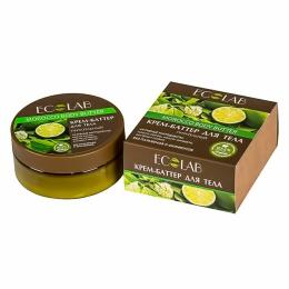 Крем-баттер для тела Ecolab «Питательный» масло какао, миндаля, экстракт лайма
