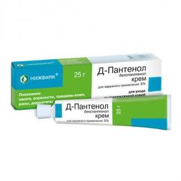 Крем для наружного применения 5% Д-Пантенол
